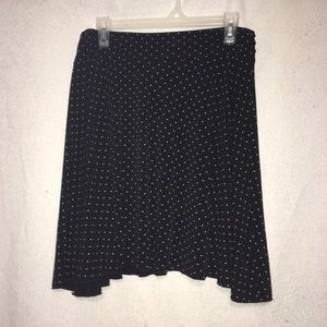 Joe Benbasset Skirts - Black and White Polka Dot Skirt
